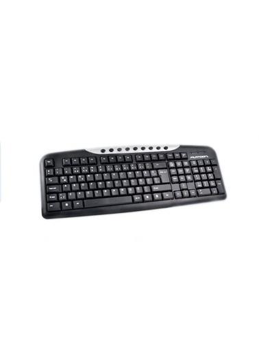 Platoon PL-165 USB Multimedia Klavye Siyah